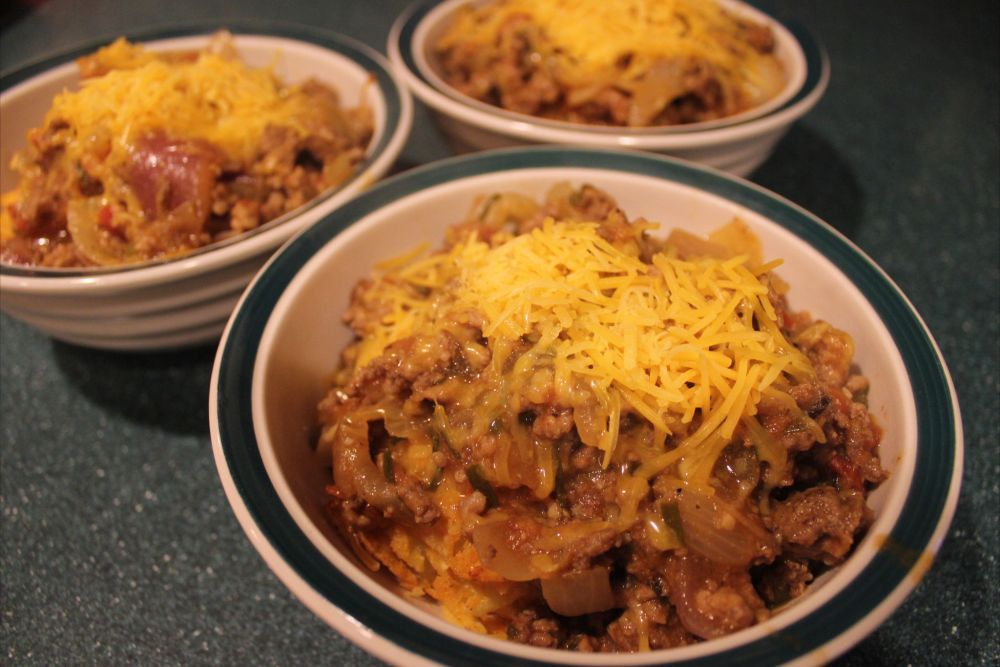 Southwest Chili and Potato Pom Poms (2/6)