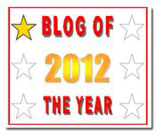 Nominated and awarded Blog of the Year!! (1/6)