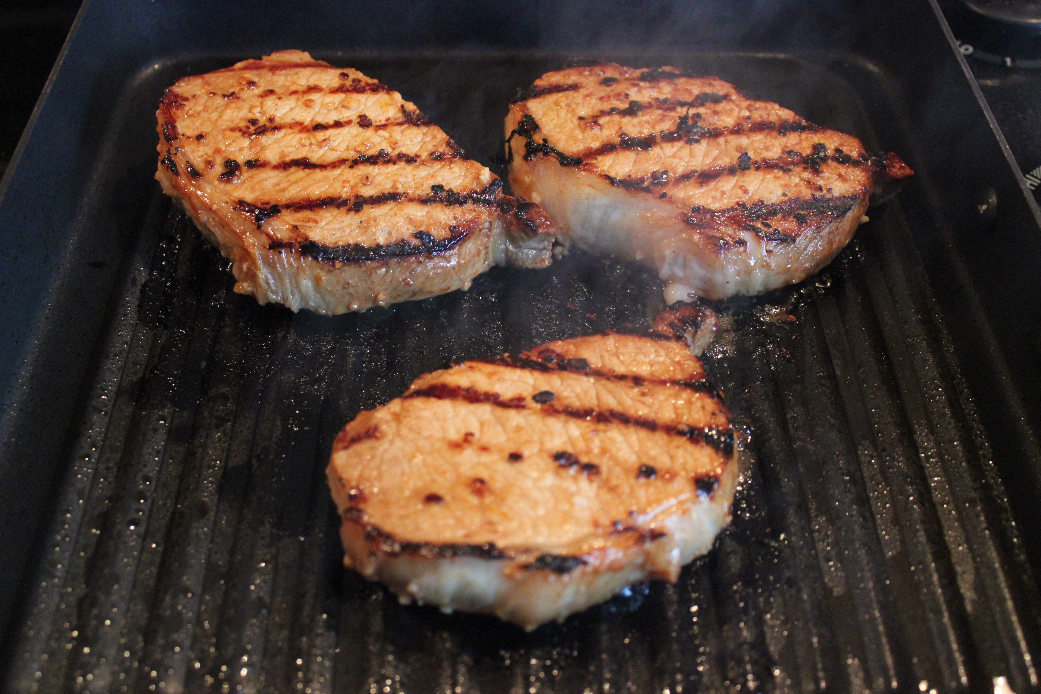 How Long To Grill Pork Chops On George Foreman Grill