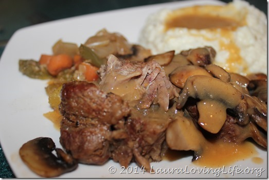 Slow Cooker Roast Beef (1/6)