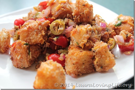Panzanella or Bruschetta Salad (1/6)